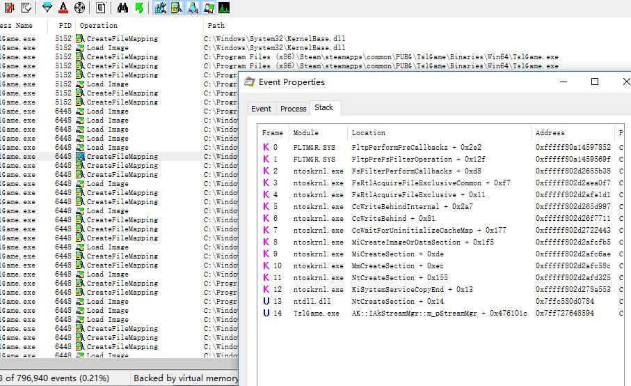 2018 3/9 PUBG 代码页防止更改
